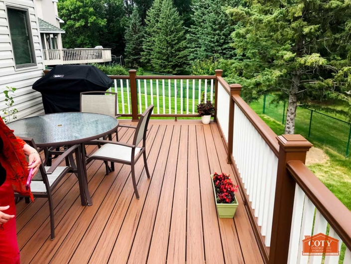 Trex Havana Gold Deck New Brighton MN